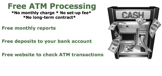 free atm processing