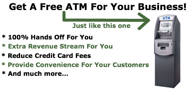 Get a free atm for your business